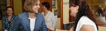Cospedal visita el Ayuntamiento de Illescas. Foto: JCCM.