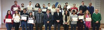"""ADECA pone fin al proyecto """"Campus Innovación e Idiomas"""" con la entrega de diplomas a los alumnos."""