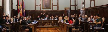 Pleno Diputación de Guadalajara.