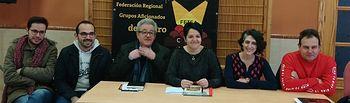 Nueva Junta Directiva de la Federación de Teatro Aficionado de Castilla La Mancha.