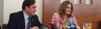 Ángel Mariscal y Marta Segarra.