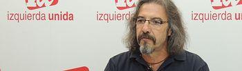 Natalio González Pino, Responsable del Área de Educación de IU CLM