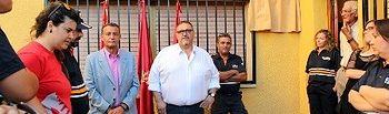 Rafael Martín inaugura la nueva sede de Protección Civil de Villafranca de los Caballeros