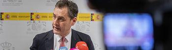 Francisco Tierraseca, delegado del Gobierno de Castilla-La Mancha, . Foto: JUANJO VALVERDE