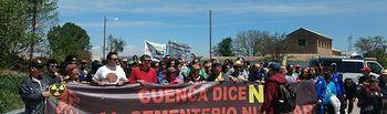 9ª Marcha contra el ATC de Villar de Cañas.