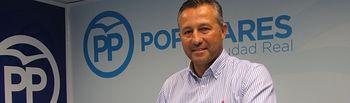 Adrián Fernández, portavoz del Grupo Popular de la Diputación Provincial de Ciudad Real.