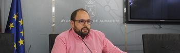 Julián Ramón, concejal de Sostenibilidad y Cambio Climático.
