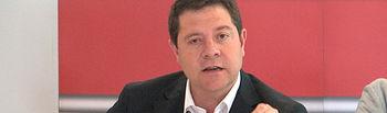 Emiliano García-Page, secretario regional del PSOE de Castilla-La Mancha.