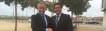 José Ignacio Echániz y Jaime Ramos. Foto: JCCM.