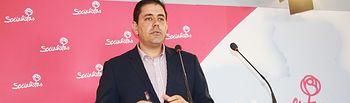 José Manuel Bolaños, secretario de Organización del PSOE provincial de Ciudad Real.