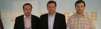Juan Ignacio Pareja, José Luis Teruel y Joaquín Altuzarra.