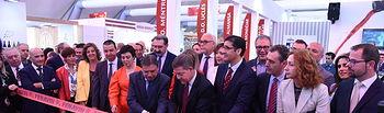 Inauguración de la X Feria Nacional del Vino (FENAVIN). (Fotos: José Ramón Márquez // JCCM)