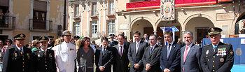 El subsecretario del Ministerio del Interior firma en Lorca la adenda al Convenio de colaboración sobre la concesión de ayudas para paliar los daños del terremoto. Foto: Ministerio del Interior