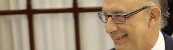 El ministro de Hacienda y Administraciones Públicas, Cristóbal Montoro. (EFE). Foto: EFE.