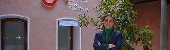María Ángeles García en San Clemente.