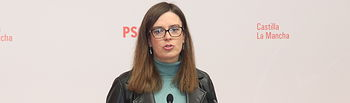 Esther Padilla, diputada nacional del PSOE.
