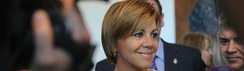 María Dolores Cospedal ha asistido al Acto Institucional con motivo del Día de Castilla-La Mancha en Ciudad Real.