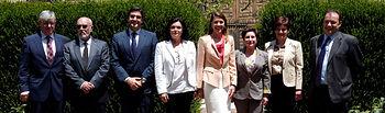 Cospedal recibe a la presidenta del Consejo General de Farmacéuticos de España. Foto: JCCM.