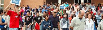 Imagen de archivo de unas jornadas de puertas abiertas en el Campus de Albacete