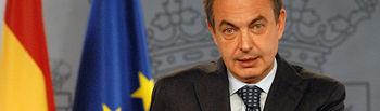 José Luis Rodríguez Zapatero, presidente del Gobierno.