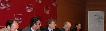 El rector de la UCLM, Miguel Ángel Collado, inaugura la XIV Conferencia Española de Biometría.