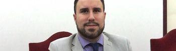 Germán Nieves, concejal socialista en el Ayuntamiento de Villarrobledo.