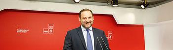 José Luis Ábalos secretario de organización PSOE
