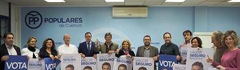Pegada de Carteles del PP de Cuenca