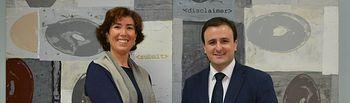 Ángel Luengo y María Carmen Díaz (Caixabank)