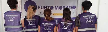 """""""Punto Morado"""" en la Feria de Albacete."""