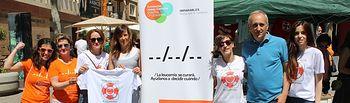 Juan Francisco Jerez y María Gil participan en las actividades organizadas por la asociación 'Yo me pido Vida'