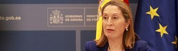 La ministra de Fomento, Ana Pastor. Foto: Ministerio de Fomento.
