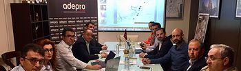 Foto reunión PSOE-ADEPRO