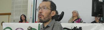 Pablo Echenique. Imagen de archivo.