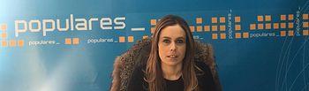 Ana Hernán, concejal del Grupo Municipal Popular en el Ayuntamiento de Villarrobledo.