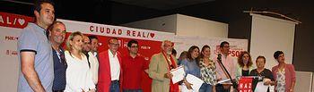 Acto y homenaje a candidaturas de Pozuelo de Calatrava