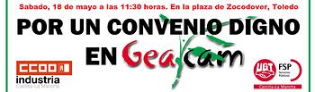 Manifestación GEACAM.