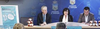 Presentación Secretos Gastronómicos de Primavera; Roberto Toledano, Federación de Turismo-CEOE; Ángel Álvarez, el corte inglés