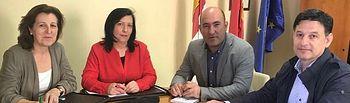 Reunión UPA CLM  con el director general de Desarrollo Rural de la Junta de Comunidades de Castilla-La Mancha, José Manuel Martín Aparicio.
