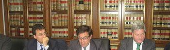 Carlos Cabanas anima a los firmantes del Acuerdo para la estabilidad y sostenibilidad del sector lácteo a seguir trabajando para completar los objetivos previstos. Foto: Ministerio de Agricultura, Alimentación y Medio Ambiente