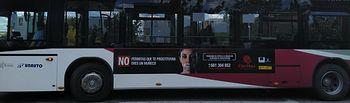 """Campaña """"Sin clientes no hay prostitución"""", enmarcada en el Proyecto Santa Marta."""
