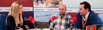 Presidente y el Gerente de la Asociación Nacional de Criadores de Ganado Ovino de la Raza Assaf, José Arévalo y Fernando Freire, respectivamente.
