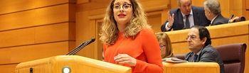 La portavoz de Justicia del GPP en el Senado, Ester Muñoz.