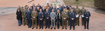 Clausura del curso de formación y entrega de diplomas de certificados profesionales en la Maestranza Aérea de Albacete. Foto: JUANJO VALVERDE