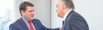 González Pons se reunió en Bruselas con el Ministro de Asuntos Europeos de Irlanda, Dara Murphy