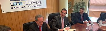 Reunión del Comité Ejecutivo de los empresarios de Castilla-La Mancha.