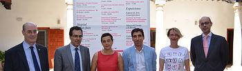 De izqda. a dcha.: Felipe Pedraza, Rafael González, Beatriz Cabañas, Daniel Reina, Natalia Menéndez y Juan Antonio Mondéjar.