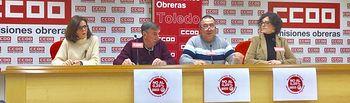 Higinia García, Germán Díez, Juan Antonio Navalón y Mariángeles Castellanos.