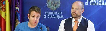 Ángel Bachiller y Alejandro Ruiz.