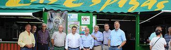 Visita a la Caseta 'Las Espigas'.